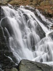Falls at Ramapo Valley County Reservation, which saw