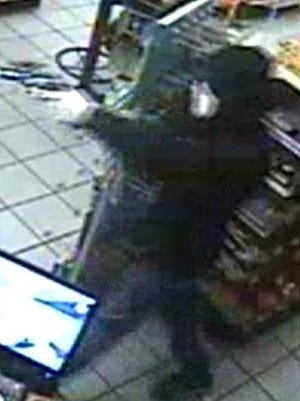 A Laurel-area store was armed at gunpoint Wednesday night.