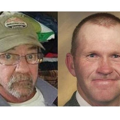 William Connole, left, and John Jacoby were shot to death in separate shootings last spring.