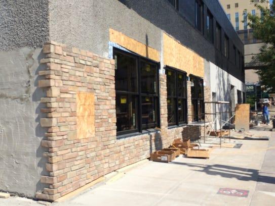 The former Luna Lounge is being transformed inside