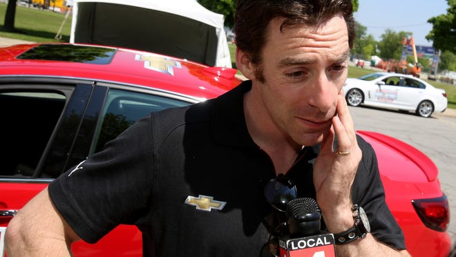 "Simon Pagenaud won his first IndyCar race at Belle Isle in 2013. ""It is very special in my heart,"" he said. ""I will always remember the last lap."""