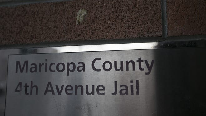 Every three hours at the Maricopa County Jail in downtown Phoenix, defendants listen as judges announce the crime allegations and bail bond amounts.