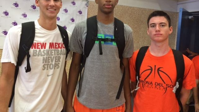 Corona del Sol's Big Three of Dane Kuiper, Marvin Bagley III and Alex Barcello ready to keep the Aztecs' dynasty intact