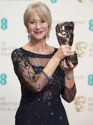 Helen Mirren at BAFTA