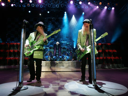 2005:  ZZ Top at the Iowa State Fair Grandstand.