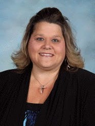 Tes Ketelson was named Montevideo's 2020 Teacher of the Year.