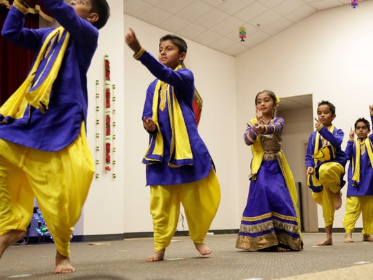 The Hindu Temple of Tallahassee, shown at a previous Diwali festival, will celebrate on Saturday this year  at the Tallahassee Automobile Museum.