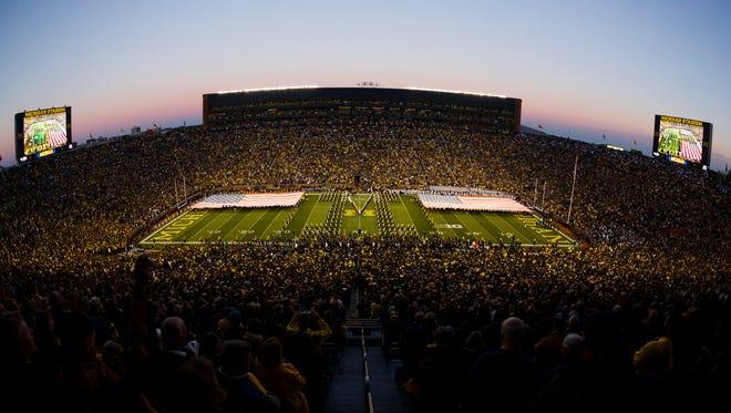 Michigan Stadium, in October 2014.