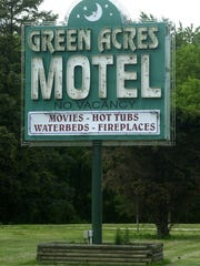 --Green Acres Motel Sign in DeWitt for Best of the Best.