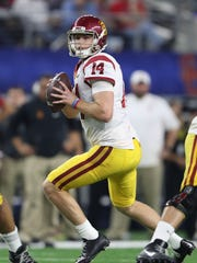 USC's Sam Darnold will enter the 2018 draft, but it