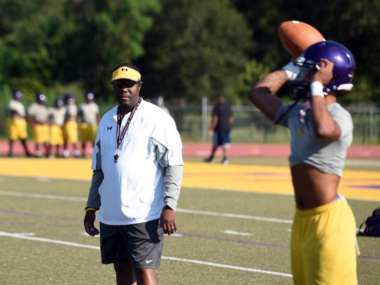 Hattiesburg High (Miss.) head coach Tony Vance has