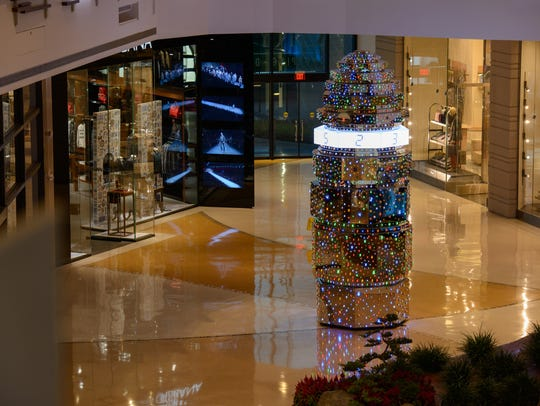 Within ARIA'S The Shops at Crystals is HOTO, a towering