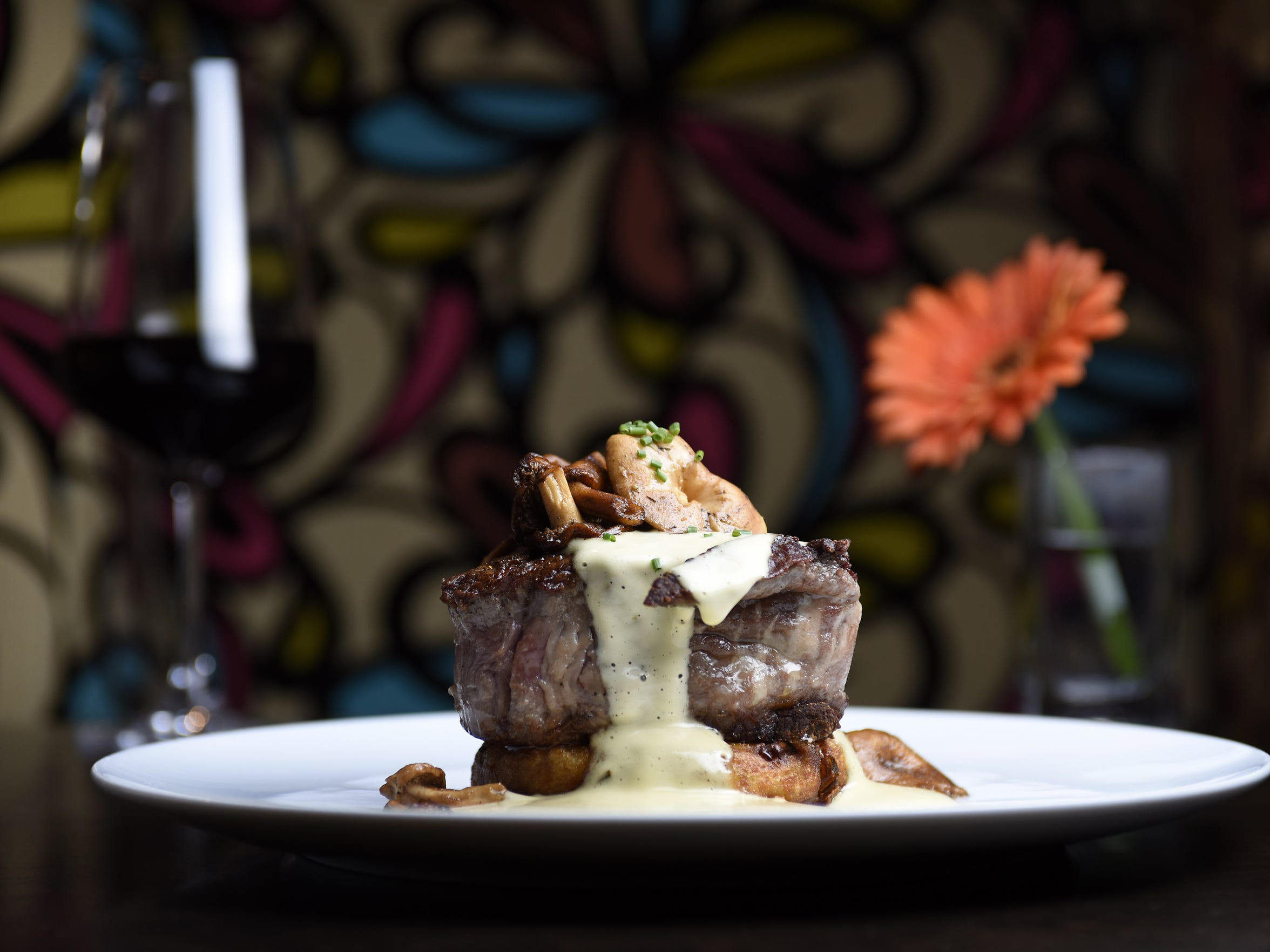 This filet of beef dish by chef Ariane Duarte beat
