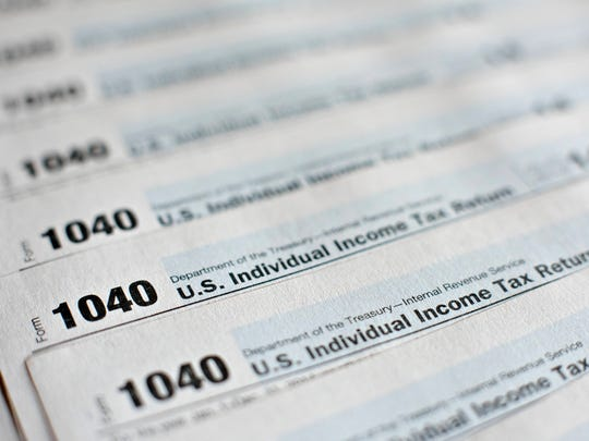 U.S. Department of the Treasury Internal Revenue Service (IRS) 1040 Individual Income Tax forms.