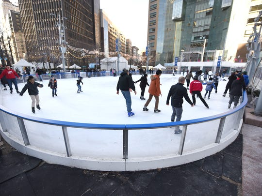 Opening day of The Meridian Winter Blast sees skaters
