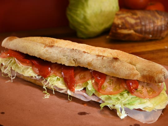 The NO. 1 sandwich at Cosmo's Italian Salumeria in