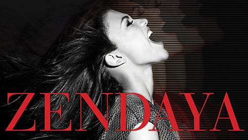 The cover for Zendaya's self-titled Hollywood Records debut album, out Sept. 17.