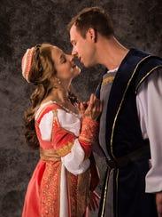 Betsy Mugavero plays Juliet and Shane Kenyon plays