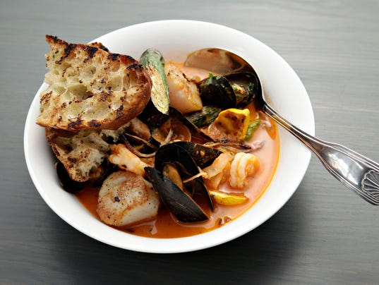 Bouillabaisse at Little Cleo's Seafood Legend