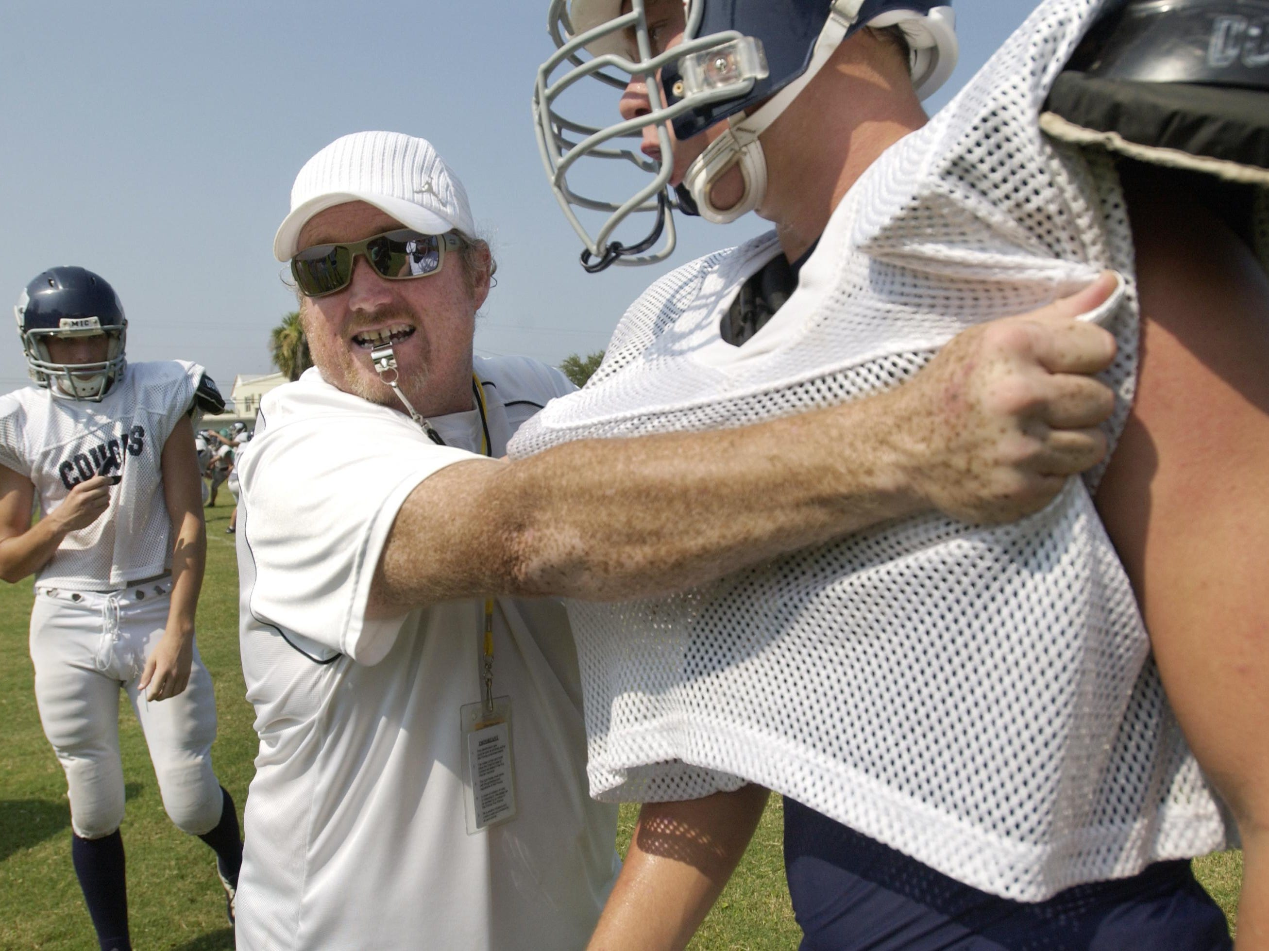 New Merritt Island Christian football coach Brian Power served as an assistant coach in 2007.