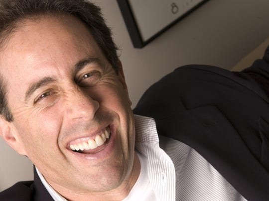 Comedian Jerry Seinfeld poses in New York on Oct. 23, 2007. (AP Photo/ Jim Cooper)