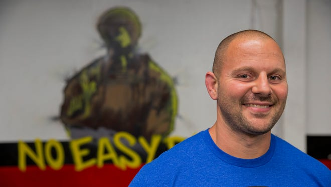 Zach Even - Esh, owner of the Underground Strength Gym in Manasquan.