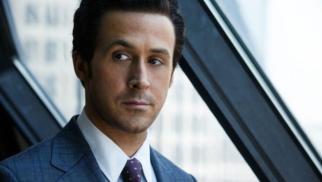 "Ryan Gosling plays corporate banker Jared Vennett in ""The Big Short."""