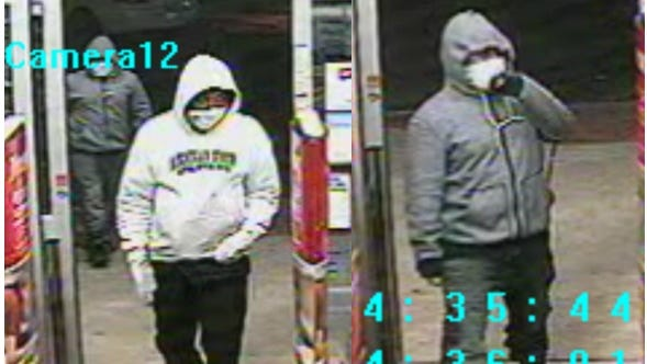 Walgreens robbery suspects
