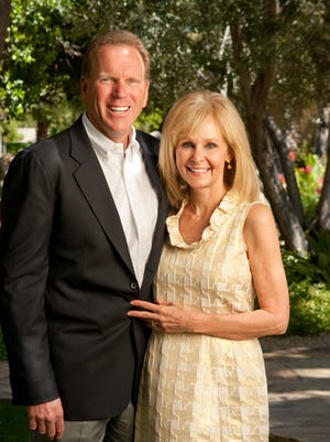 Steve and Debbie Moak in 2010.