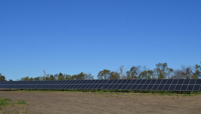 Pella is home to one of five solar sites that make up Central Iowa Power Cooperative's 5.5 megawatt utility-scale solar system.