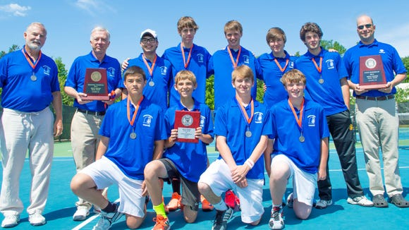 Brevard's run to the 2-A Western Regional boys dual team tennis championship was one of its biggest athletic highlights from this past school year.