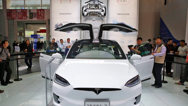 Tesla is offering a lower-range version of its Model X crossover, which will start at $74,000, or $9,000 less than the previous base price on the Model X 75D.