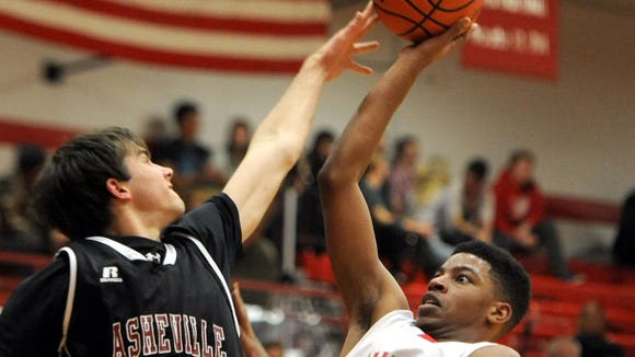 Erwin knocked off Asheville High, 74-59, in Friday's