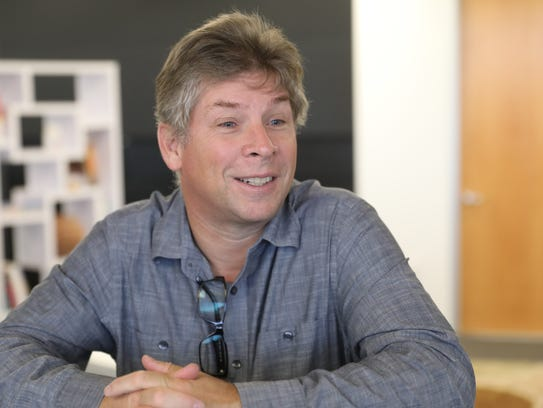 Search expert Danny Sullivan visits USA TODAY.