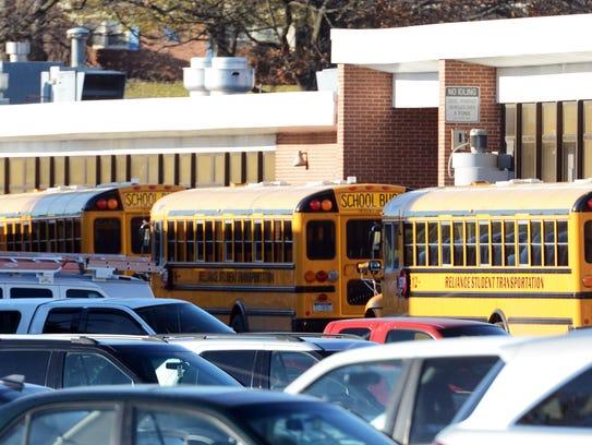 Dismissal at York Suburban High School Tuesday, Nov.