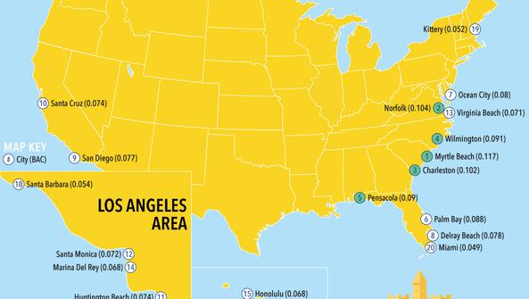 Myrtle Beach is america's drunkest beach town with