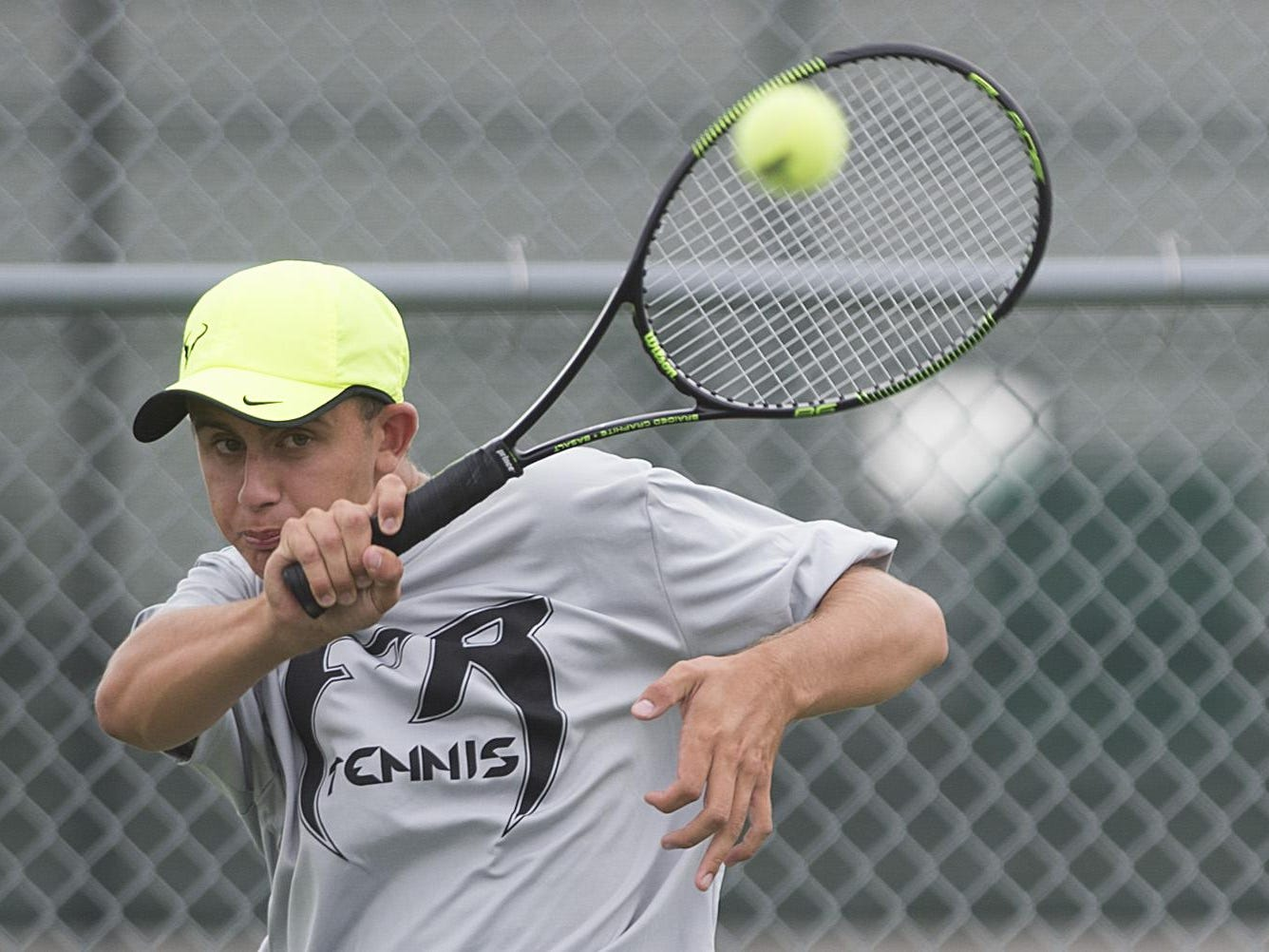 Fossil Ridge High School tennis player Jackson Johar will compete in the state tournament beginning Thursday at No. 2 singles.