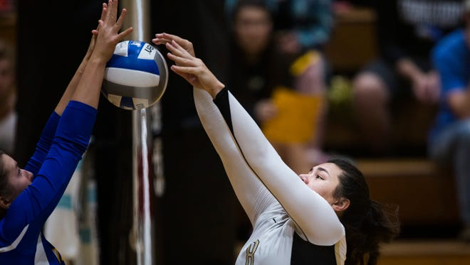 Anderson University's Emily Conlin is one of four of the school's freshman of the year honorees from the South Atlantic Conference.