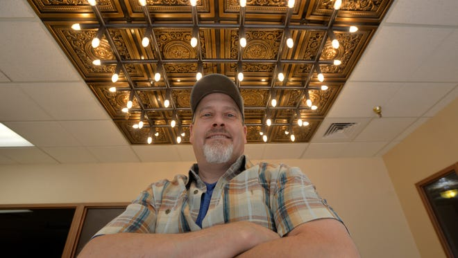 Jason Madill, owner of the Strain Building at 410 Central Avenue, is renovating the second floor to accommodate restaurants and event space.