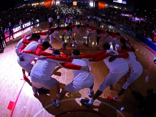 Dayton reached the Elite Eight after being a bubble