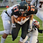 Brighton's defense forced three turnovers, shutting out an opponent for the first time in three years in Friday's 28-0 win over Pinckney.