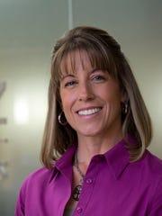 A portrait of Cristin Connor (Mesa Employee Health