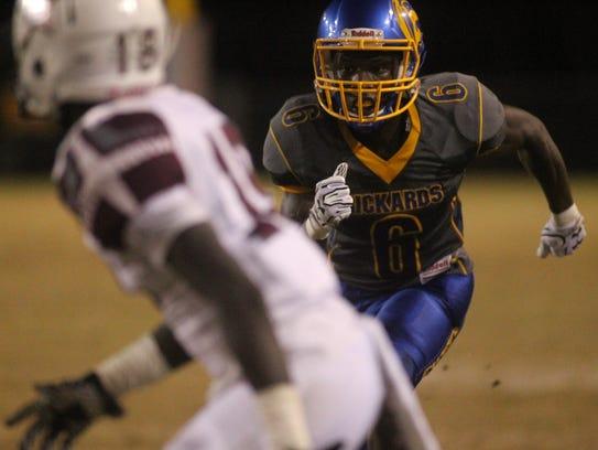 Rickards receiver Ferante Cowart hauled in a 33-yard