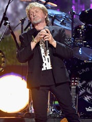 Inductee Jon Anderson of Yes performs onstage.