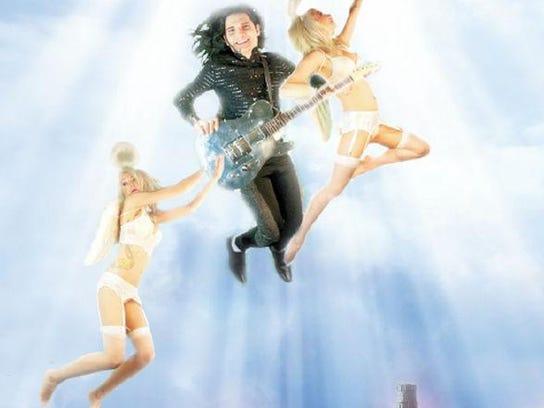 Angel soaring Corey
