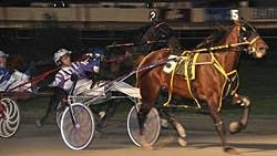Foiled Again, the richest harness horse in the history of the sport, will race at Batavia Downs on Saturday. He's been at the track twice before, winning the Robert J. Kane Memorial in 2009 and 2013.