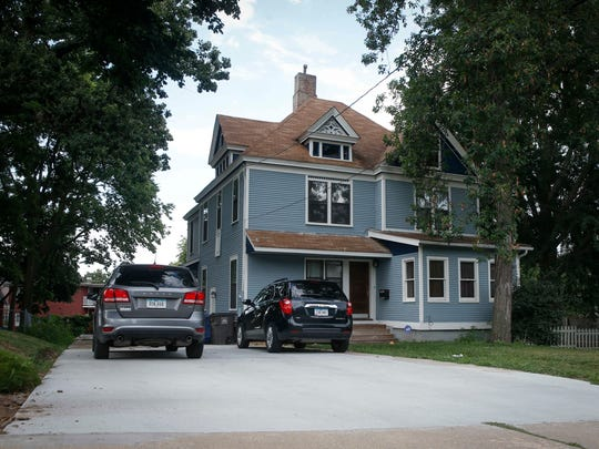 The Victorian-era home owned by Chris and Sara Chiaramonte of Des Moines sits in the River Bend neighborhood.