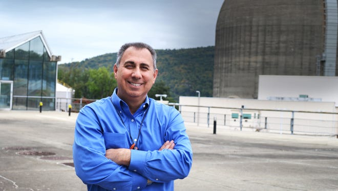 Anthony J. Vitale became site superintendent of the Indian Point Energy Center in Buchanan, in August 2016 – after first being hired on at the plant in 1983. A native of Peekskill and graduate of Hendrick Hudson High School, Vitale is pictured at the facility on Oct. 6, 2016.