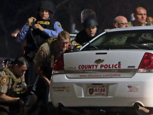 AP KILLINGS BY POLICE FERGUSON A USA MO