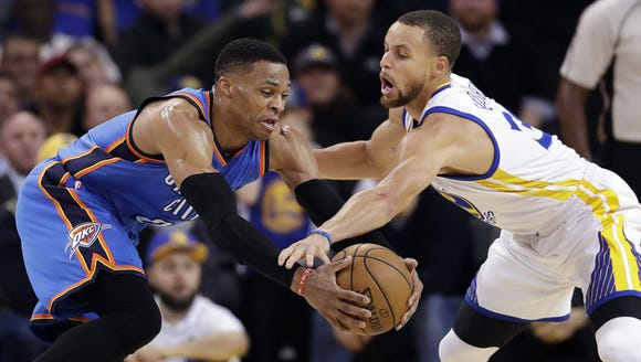 Russell Westbrook and Stephen Curry have had many NBA